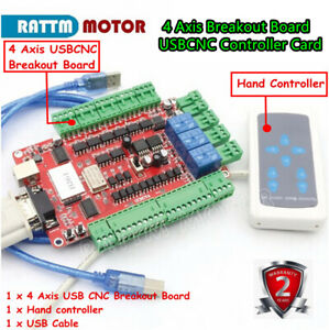 Usb Interface 4 Axis Breakout Board Usbcnc Controller Card For Cnc Stepper Motor
