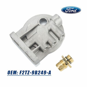 Diesel Fuel Filter Housing Header For 1983 1994 F150 F250 F350 E 150 6 9l 7 3l