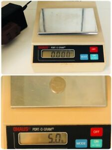 Ohaus C301p Port o gram 300g Digital Electronic Scale g dwt oz T