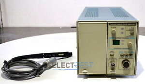 Tektronix Tm502a Mainframe With Am503a Plug in A6302 Current Probe