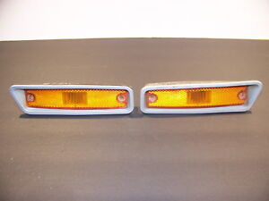 1972 1973 1974 1975 Dodge Truck Power Wagon Amber Turn Signals Oem Ramcharger