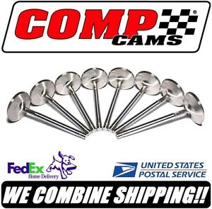 Comp Cams Sbc Chevy 2 020 200 Sportsman Stainless 11 32 Intake Valves 6009 8