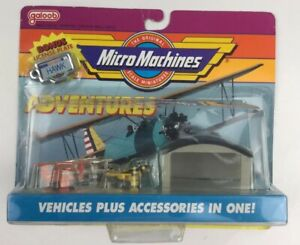 Micro Machines Air Show Adventures Collection 2 Brand New