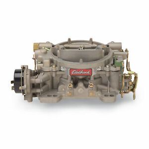 Edelbrock 1409 Carburetor Marine Perf 600 Cfm Electric