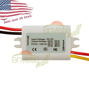12v To 9v 1 7a 15w Dc dc Step Down Converter Dc Power Supply Module Waterproof