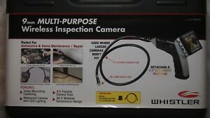 Whistler 9mm Wireless Boroscope Inspection Camera Model Ic 3409px