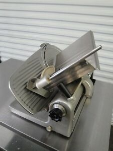 Hobart 1612 Meat deli Slicer With Deli Buddy Stainless Steel Tableface To Face