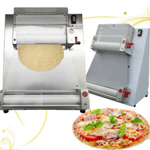 370w Automatic Pizza Roller Making Sheeter Machine Size 100 400mm Dough 50 500g