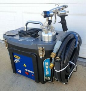 Graco Finishpro 9 5 Hvlp 5 Stage Turbine Paint Sprayer With Edge Spray Gun