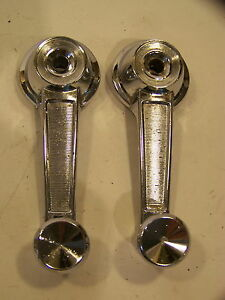 1963 64 65 Plymouth Window Crank Handles Belvedere Satellite Valiant Barracuda