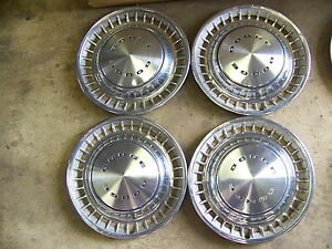 1972 1973 1974 Dodge Challenger Hubcaps Wheel Covers 14 Charger 1975 1976 Dart