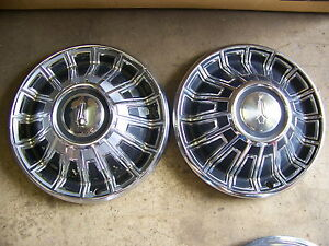 1970 Plymouth Hubcaps Wheel Covers Pr 14 Satellite Belvedere Valiant Sport Fury