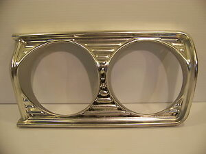1964 Plymouth Belvedere Sport Fury Savoy Headlight Bezel Lh Ds Oem