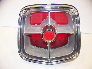 1963 Plymouth Fury Station Wagon Taillight Savoy Belvedere 2422696 Complete Oem