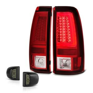 03 06 Chevy Silverado 1500 2500 3500 Red Neon Led Tail Lamp License Plate Light