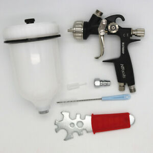 Spray Gun Ntools R3700rp 1 3 1 5mm Nozzle For Optimum Finish Atomisation New