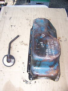 1972 Plymouth Barracuda 340 Oil Pan 294 1970 71 318 Dart Challenger Road Runner