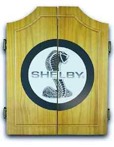 Shelby Super Snake Dart Cabinet With Darts And Board