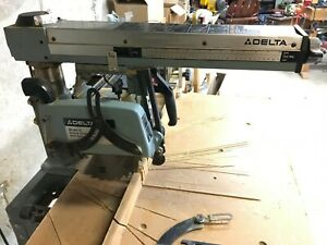 Delta Model 10 Radial Arm Saw Used Very Little No Reserve