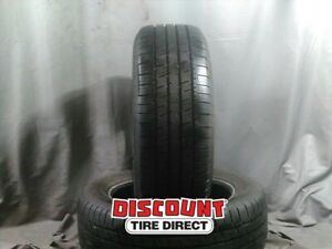 2 Used 255 55 20 Goodyear Assurance 55r R20 Tires