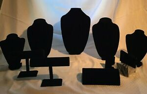 Jewelry Displays For Necklaces Bracelets And Earrings Velvet