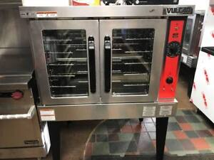 Vulcan Vc4ed 12d1 Single Deck Full Size Electric Convection Oven 240v 3 1 Ph
