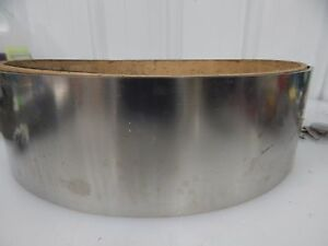 301 Stainless Steel 01 Thick 4 75 Wide 10 lbs Sheet Strip Shim Stock 4 3 4 304