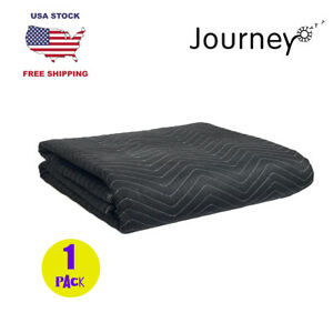 80x72in Deluxe Pro 45lb dz Durable Moving Blanket Quilted Shipping Furniture Pad