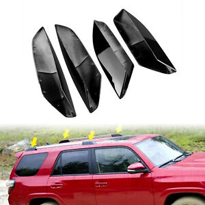 4x Roof Rack Rail End Cover Shell Replacement For Toyota 4runner N210 2003 2009