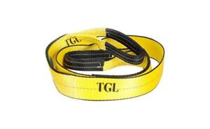 3 8 Tree Saver Winch Strap Tow Strap 30 000 New Capacity Pound