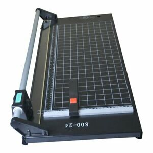 Manual Precision Rotary Paper Trimmer Sharp Photo Paper Cutter 24 Inch