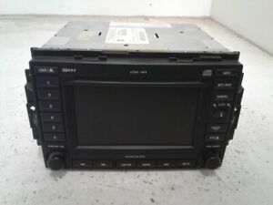 2005 Jeep Grand Cherokee Am Fm Cd Player Navigation Radio Id Rec Oem
