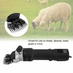 320w Electric Farm Supplies Sheep Goat Shears Animal Livestock Shave Grooming