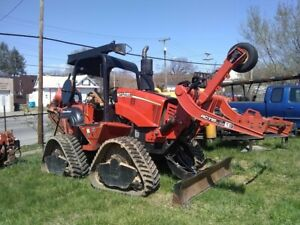 2010 Ditch Witch Rt115 Quad Plow trencher low Hours