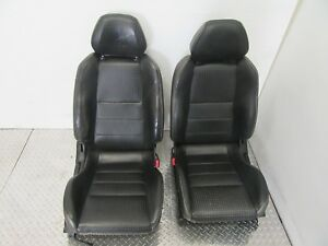 Jdm Nissan S15 Silvia Leather Seats Pair 240sx Oem 89 99