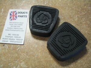 Triumph Tr7 Tr8 Gt6 Mkiii Spitfire 1500 Clutch And Brake Pedal Pads New