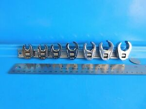 Used Snap On 3 8 Dr Crowsfeet 3 8 Thru 3 4 In Line Type Part 207frh Usa