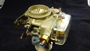 1961 64 Ford Holley 1bbl Carburetor W Glass Bowl 1908 W Hand Choke 180 1232 Gb