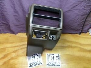 88 91 Civic Wagon Center Console Oem Brown