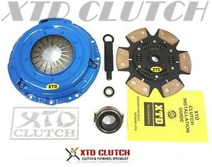 Xtd Stage 4 Extreme Clutch Kit Integra Civic Si Del Sol Crv 2300lbs Sprung