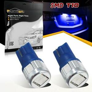 2 New Car Back Up Reverse Bright Blue Color Amsung High Power Led Light