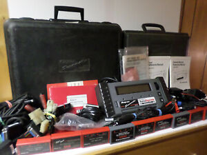 Snap On Mt2500 Code Scanner W Connectors Extras Manuals Cables Vhs