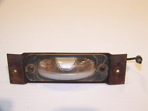 1966 67 Plymouth License Plate Light Oem Gtx Charger Belvedere Ii