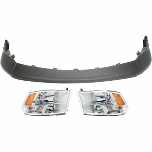 Front New Kit Auto Body Repair For Truck Dodge Ram 1500 2009 2010