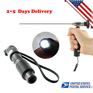 Mini 10w Led Cold Light Source Endoscope Surgical Connector Fit Storz Olympus Ce