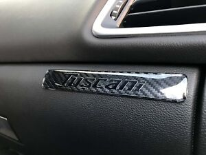 1x Tuscani Carbon Fiber Doom Style Interior Sticker Decal
