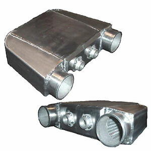 Universal Water To Air Intercooler 16 X12 5 X4 5 3 5 Same Side Inlet Outlet