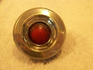 1968 Dodge Red Side Marker Light Turn Signal W Curve Dart Superbee A B Body