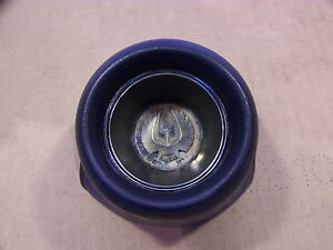 1968 Chrysler Imperial Blue Horn Cap Button Lebaron Crown Coupe Ghia