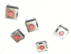 5x 6x6x2 5mm Waterproof Tactile Push Button Switch 4 pin Smd